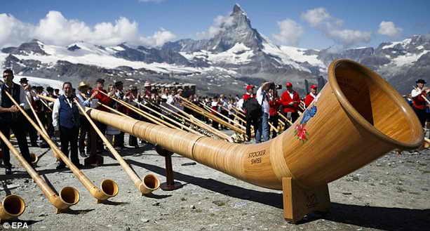 Гигантский альпийский рог