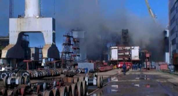 Пожар на АПЛ Томск