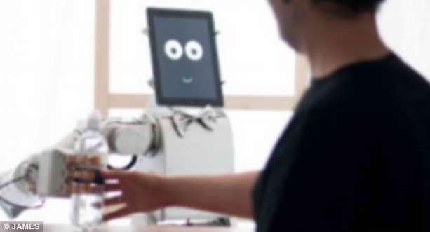 Робот-бармен Джеймс