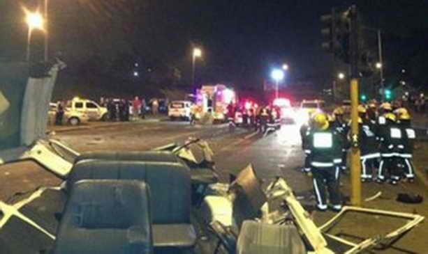 Автокатастрофа в Пайнтауне