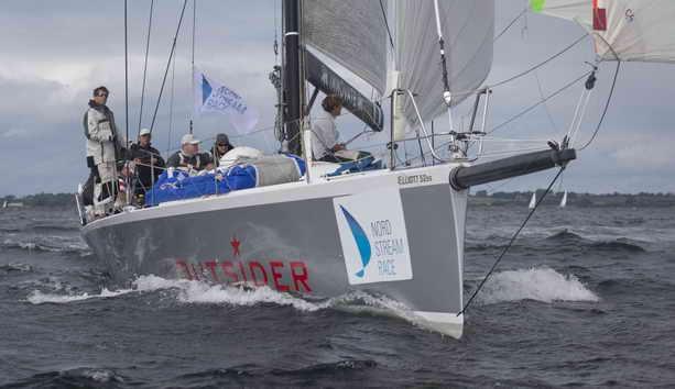 Яхта на регате Nord Stream Race 2013