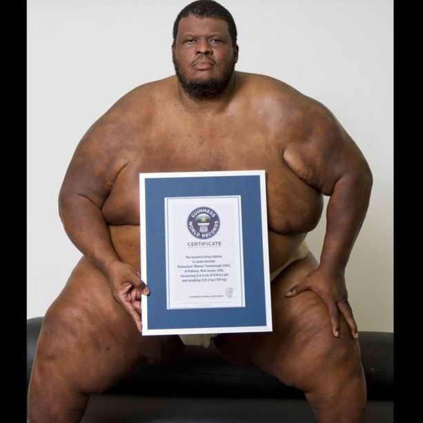 Самый тяжелый спортсмен