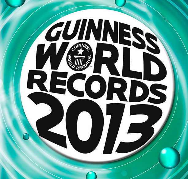 Книга рекордов Гиннеса 2013