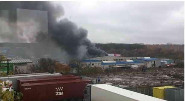Воронеж: пожар в торговом центре