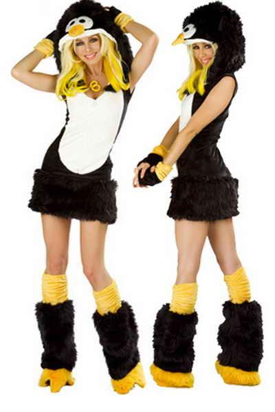 Пингвин на Хэллоуин