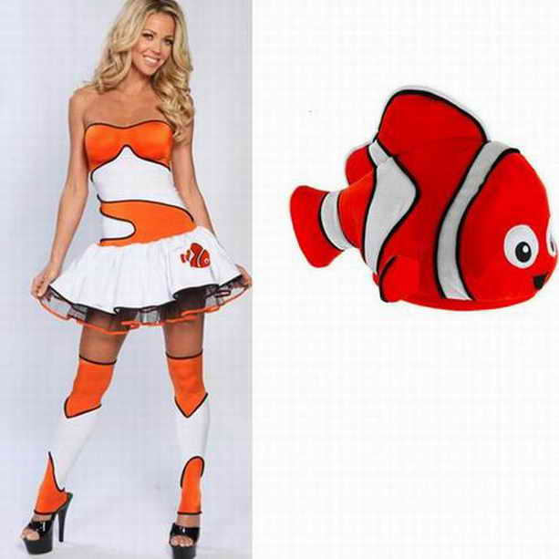 секси-рыбка на Хэллоуин