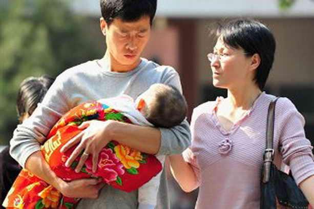 В Китае один ребенок