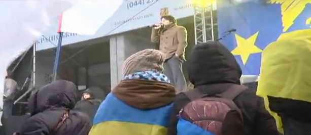 Киев утро 25 11 2013