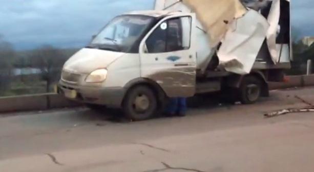 Авария на мосту Саратов Энгельс
