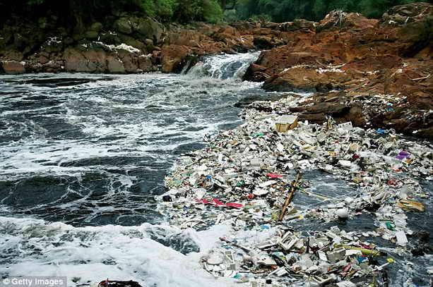 Река Читарум, Индонезия