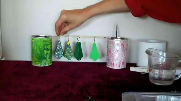 Рождественские елочные игрушки