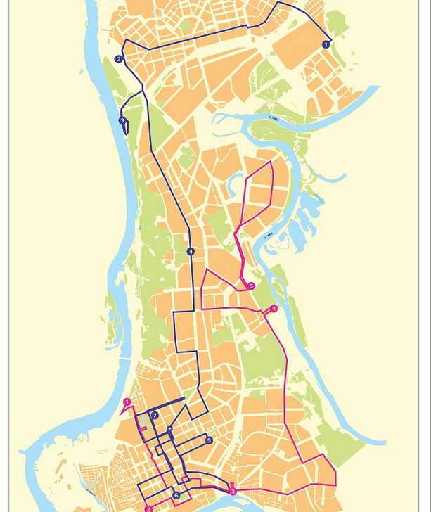 Уфа: маршрут Олимпийского огня