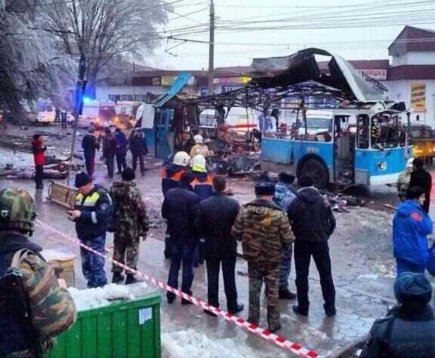 Взрыв троллейбуса Волгоград