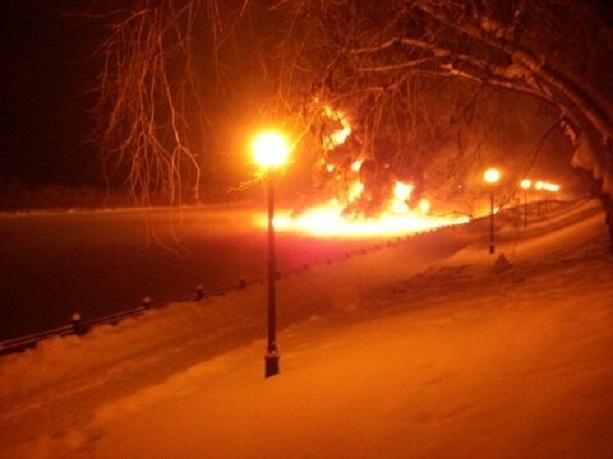 Пожар в Нововятске