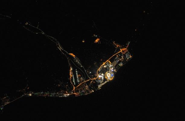 фотографии ночного Cочи