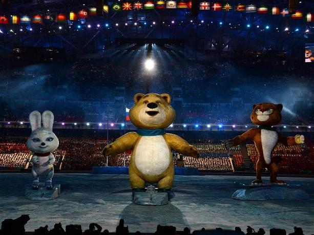 Олимпиада в Сочи 2014 открытие
