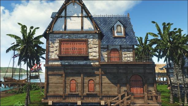 Строительство дома в Archeage
