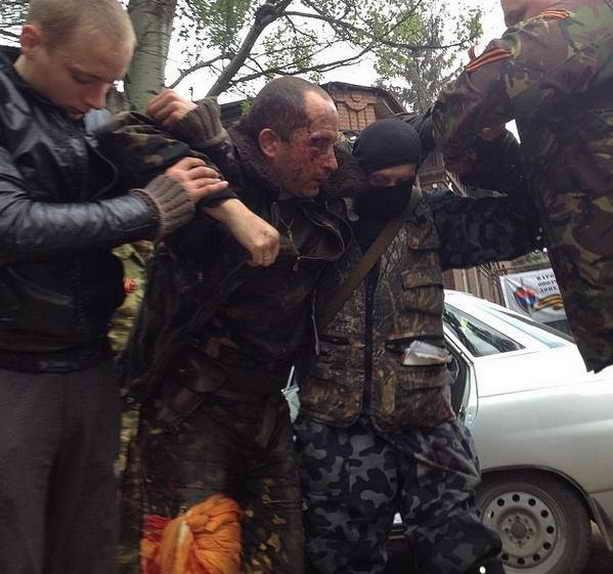 Славянск, раненный