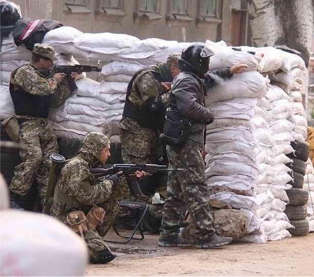 защитники Славянска террористы боевики