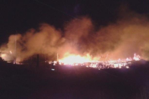 Взрыв на Ачинском НПЗ 15 06 2014