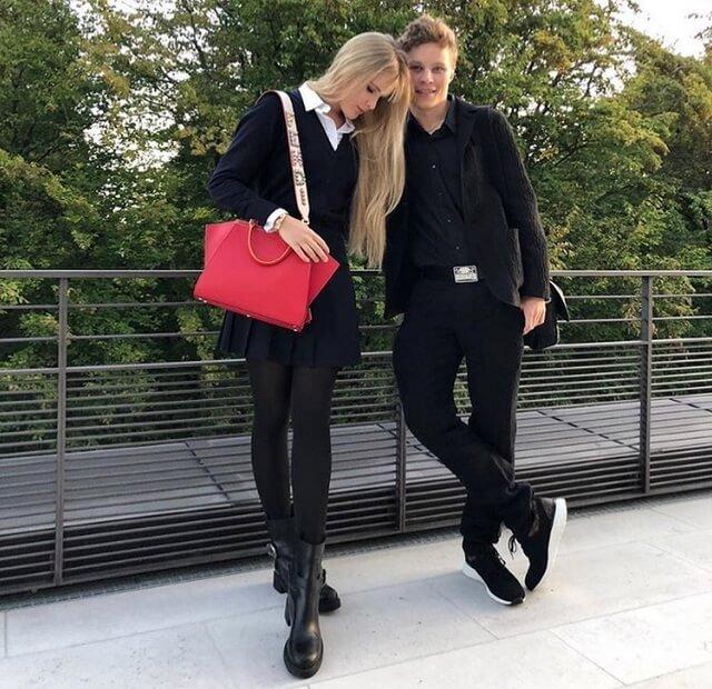 Устинья и Фрол Малинины - дети Эммы Малининой