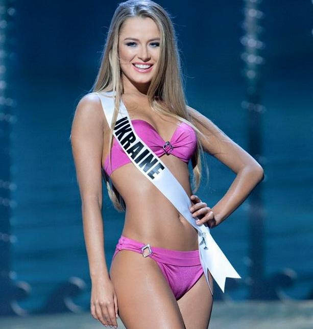 Диана Гаркуша Мисс Вселенная 2014 фото