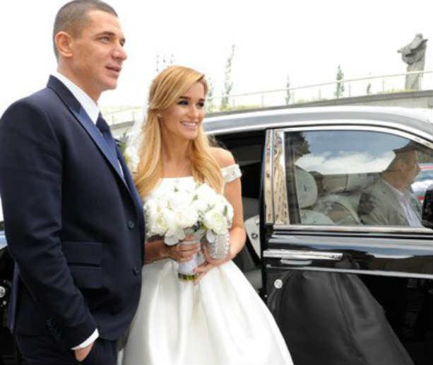 Свадьба Ксении Бородиной и Курбана Омарова, фото со свадьбы