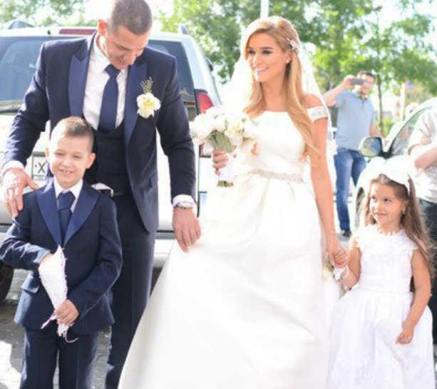Свадьба Ксении Бородиной и Курбана Омарова дети