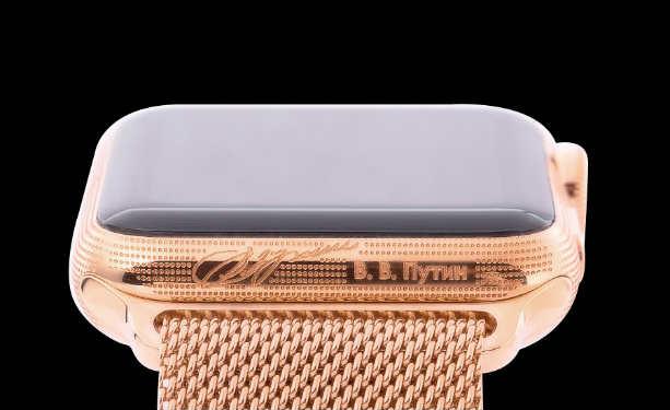 В продаже появились часы Apple Watch Epoca, посвященные Путину, Ленину и Петру I