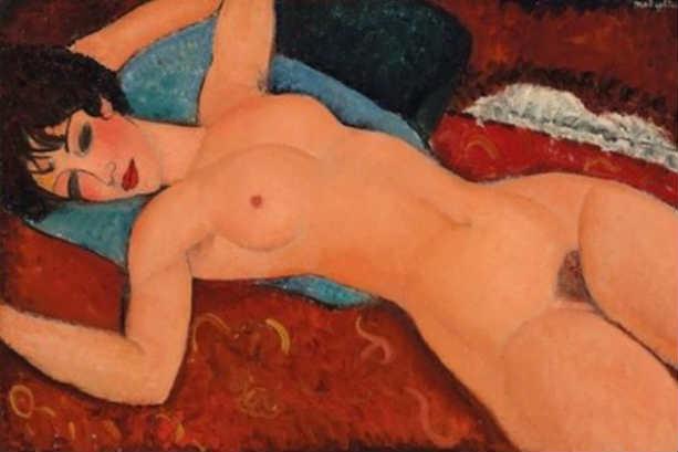 «Лежащая обнаженная» Амедео Модильяни вошла в десятку самых дорогих картин