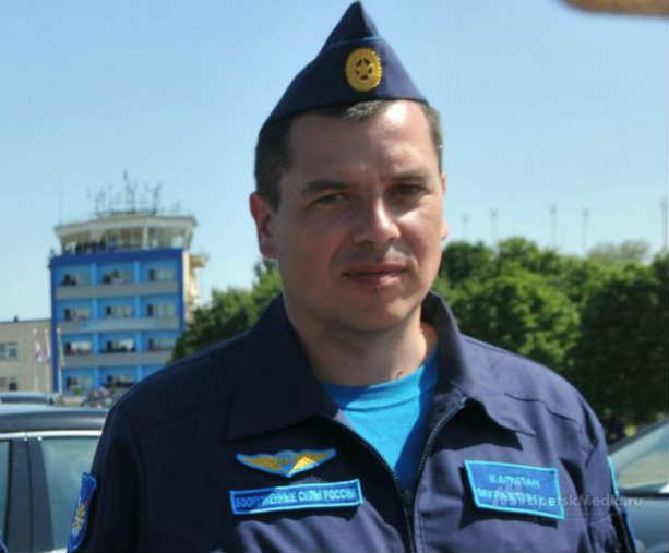 Олег Пешков летчик