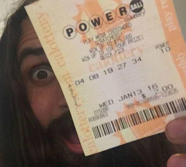 победитель лотереи Powerball Эрик Брэгг