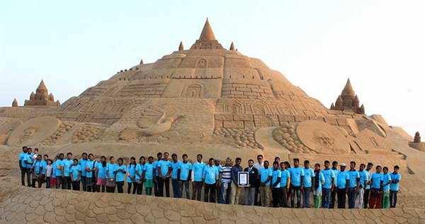 Замок из песка Книга рекордов Гиннеса