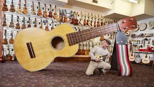 гавайская гитара 3,99 метра Рекорд Книги Гиннеса