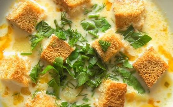 Рецепт сырного супа пошаговый