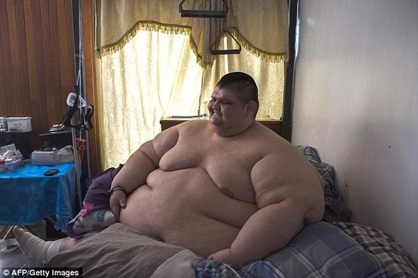 Самый толстый человек в мире Хуан Педро Франко