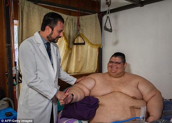Самый толстый мужчина в мире Хуан Педро Франко