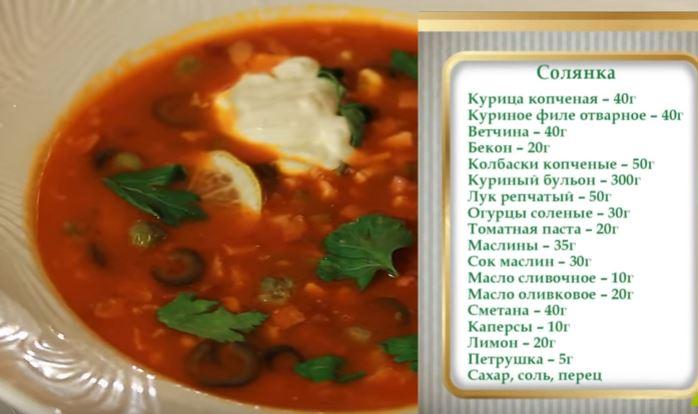 как приготовить суп солянку рецепт с фото пошагово