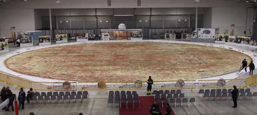 Самая большая в мире пицца — «Оттавиа»