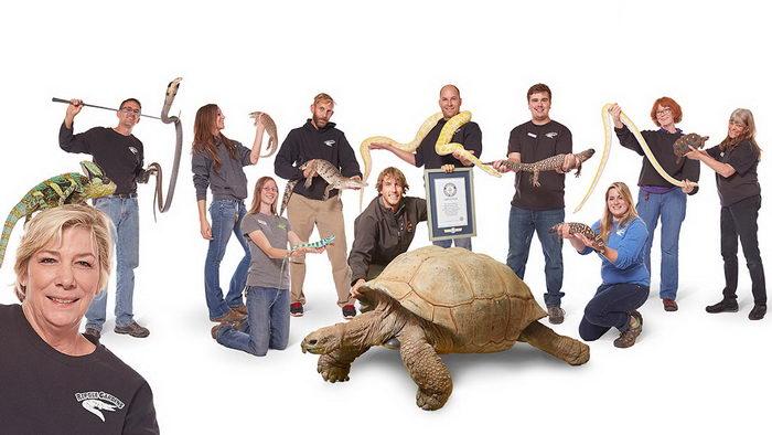 Самый большой в мире зоопарк рептилий