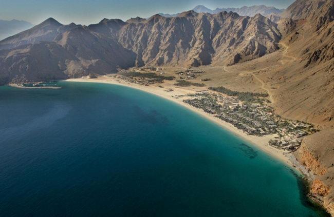 Залив Зига в Омане
