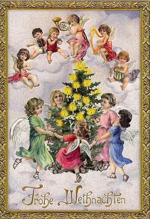 Открытки с Рождеством на немецком