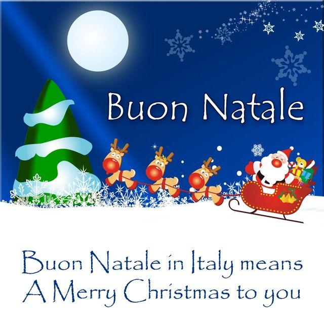 Открытки с Рождеством на итальянском