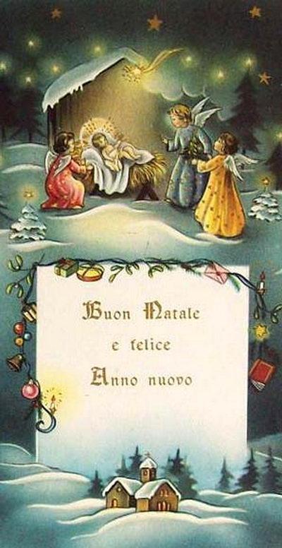Картинки с Рождеством на итальянском