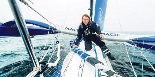 Французский яхтсмен Франсуа Габар