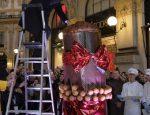 Самый большой рождественский пирог в мире панетонне
