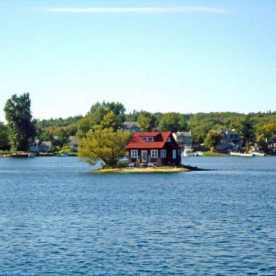 Книга рекордов Гиннеса самый маленький в мире населенный остров