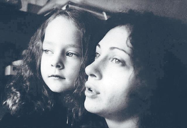 Аглая Тарасова Ксения Раппопорт детские фото