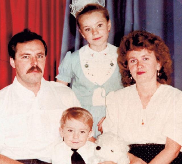 Александр Петров семья сестра