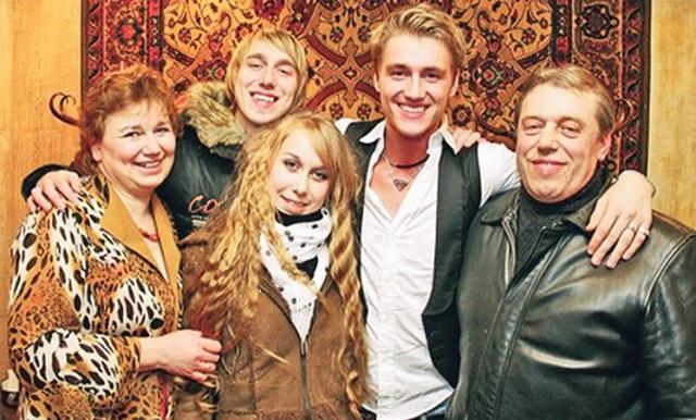 Алексей Воробьев семья